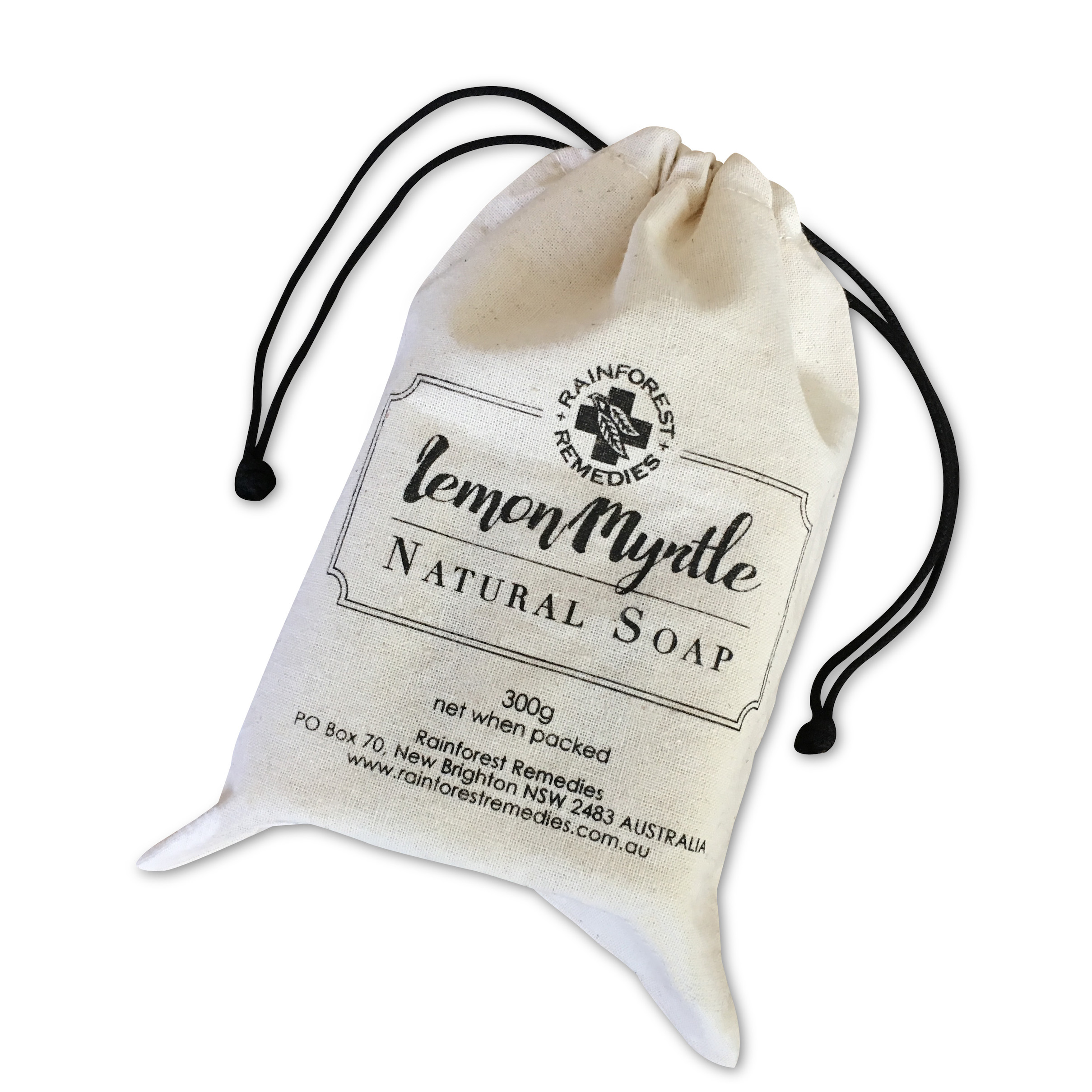 Lemon Myrtle soap bag